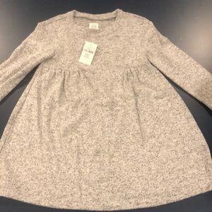 NWT Baby Gap 2T heather grey dress